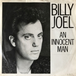 "Billy Joel ‎- An Innocent Man (7"") (EX-/G-VG)"